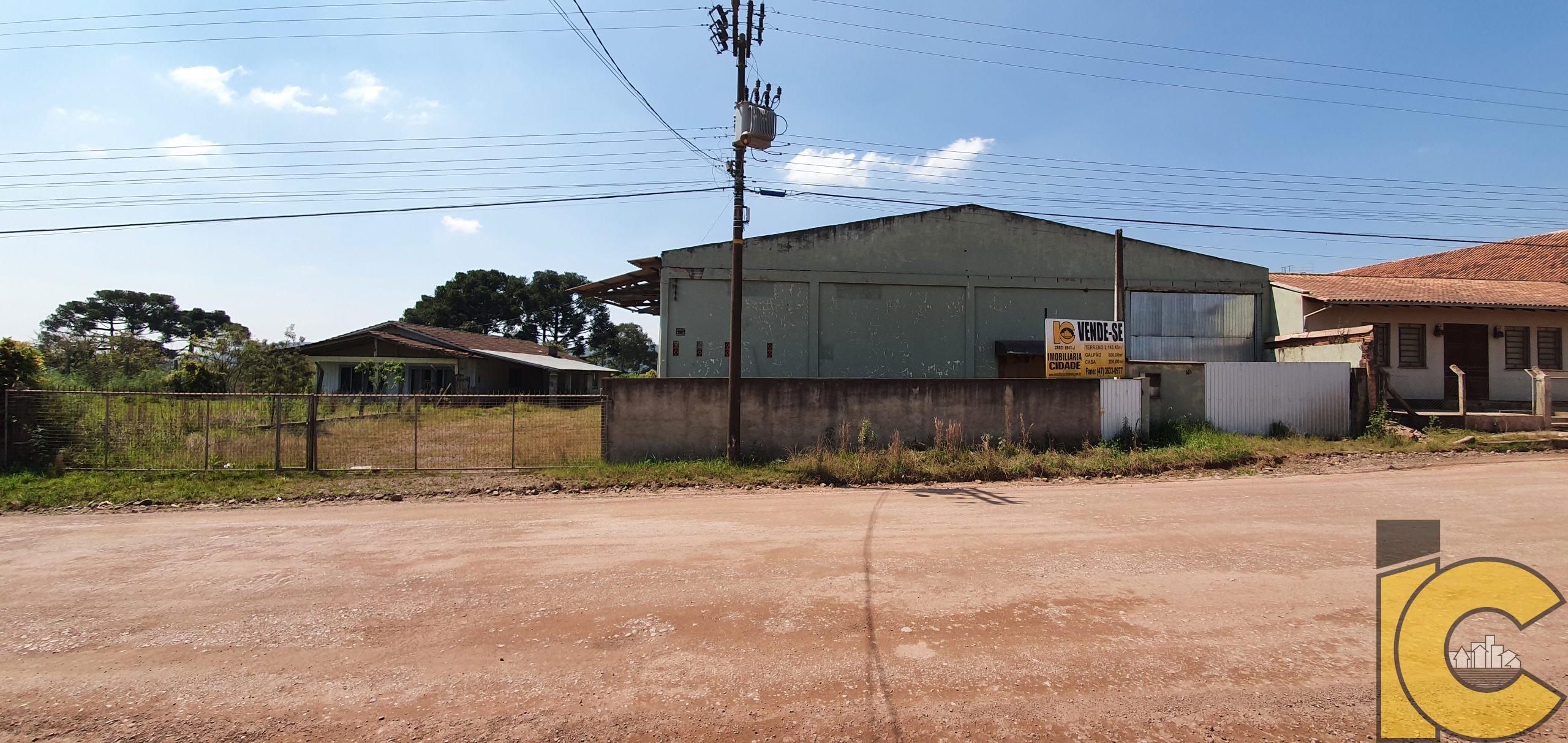 Galpão Na Estrada Dona Francisca.